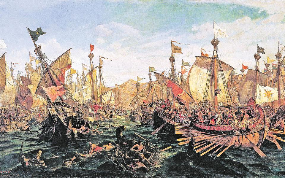 2.500 χρόνια από τη Μάχη των Θερμοπυλών και τη Ναυμαχία της Σαλαμίνας – Μέρος ΙΙ. Σαλαμίνα, 28 ή 29 Σεπτεμβρίου του 480 π. Χ.  ΗΡΟΔΟΤΟΥ Ἱστορίαι, VIII 61-62, ΑΙΣΧΥΛΟΥ Πέρσαι, στ. 447-471 – Μετάφραση: Γεωργία Παπαδάκη