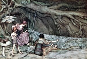Arthur Rackham ~ Peter Pan~ 1906